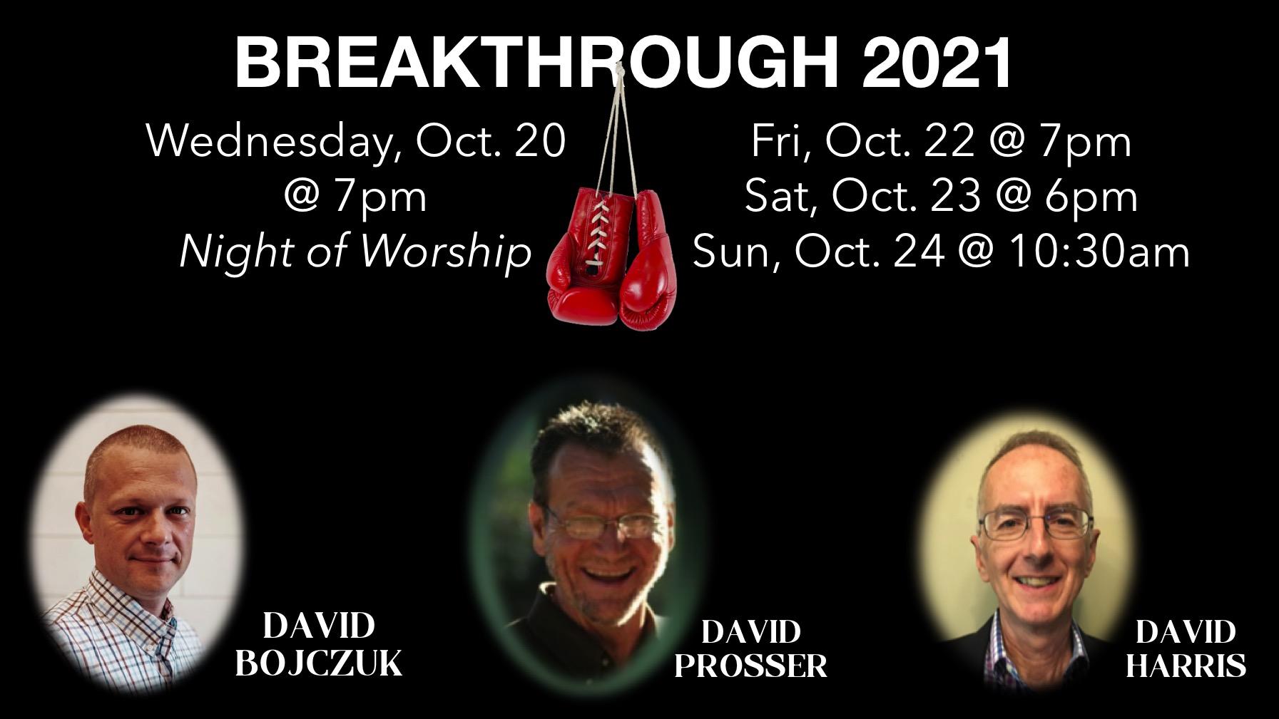 Breakthrough slide